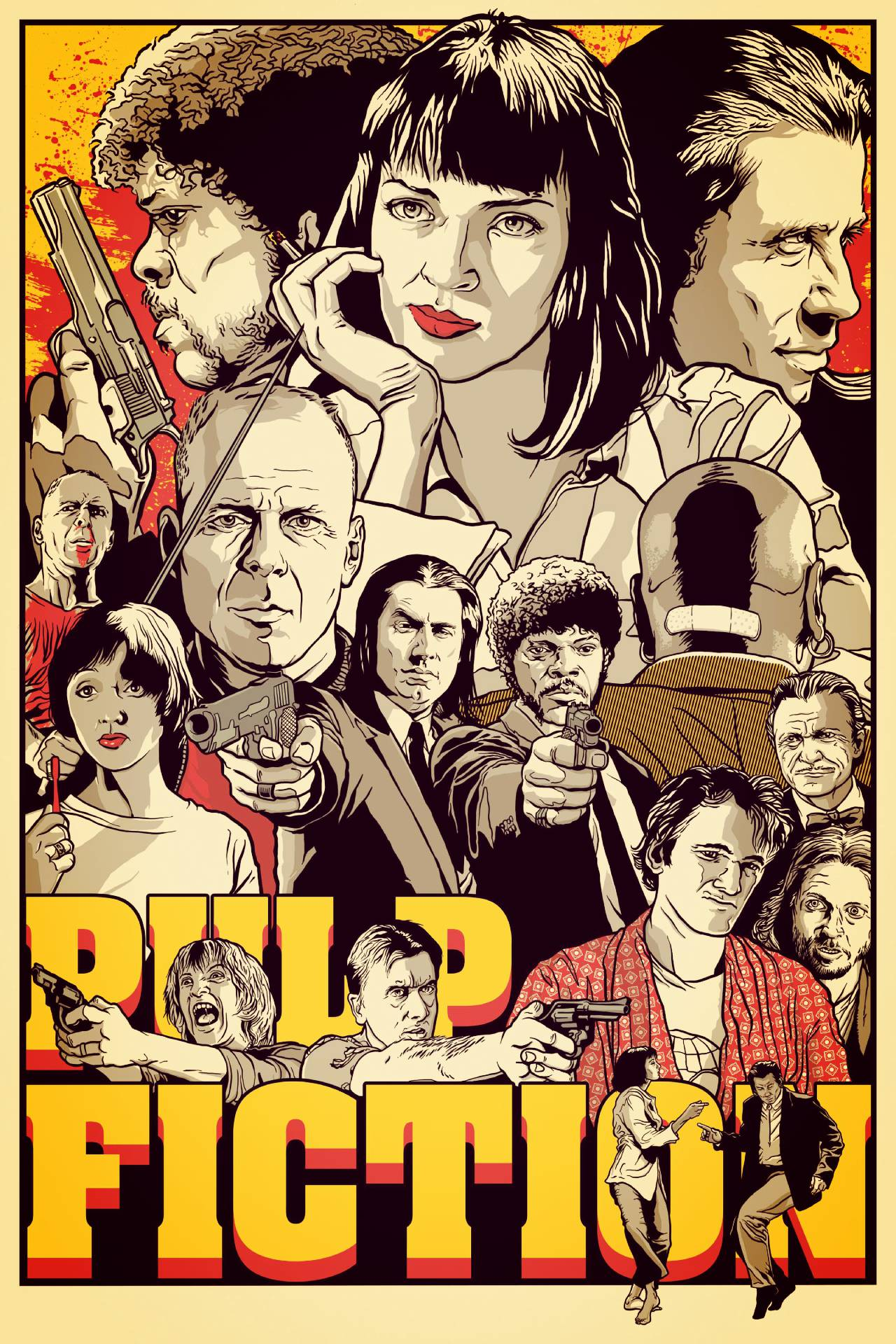 Pulp Fiction © by Joshua Budich